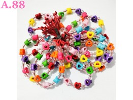 Gelang Tangan Love Bolong  /lusin (A-9469)